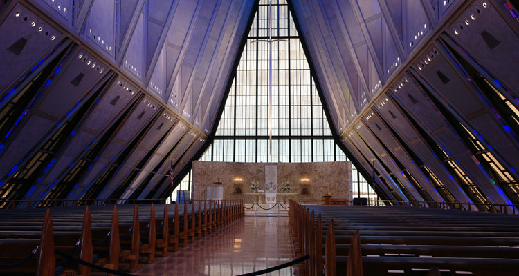 01 Protestant Chapel (United States Air Force Academy)