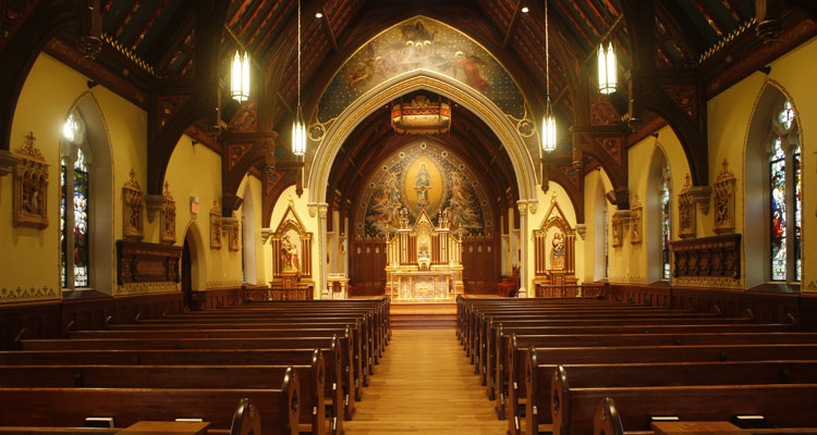 28 Chapel of Immaculate Conception (Seton Hall University)